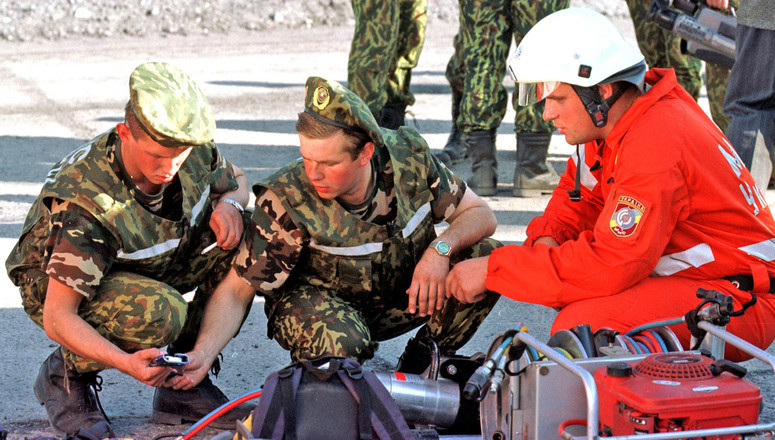 25-30 September 2000 Exercise Trans-Carpathia 2000 in Ukraine. - elimination of consequences of a transport accident with chemical spill.